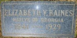 Elizabeth Virginia <i>Terrell</i> Baines