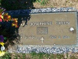 Mary Josephine Green