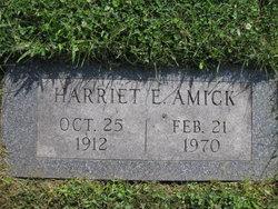 Harriet Elizabeth Had <i>Woy</i> Amick
