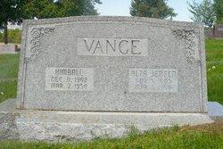 Alta Amanda <i>Jensen</i> Vance