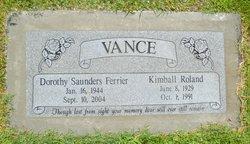 Kimball Roland Vance
