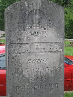 Maj William Madison Rhea