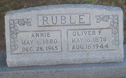 Annie Katherine <i>Riddlespurger</i> Ruble