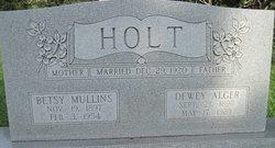 Etta Elizabeth Betsy <i>Mullins</i> Holt