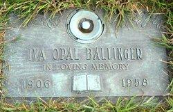 Iva Opal Ballinger
