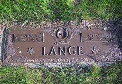 Alvina Frances <i>Forst</i> Lange