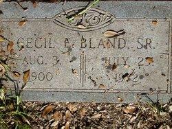 Cecil Emmett Bland, Sr