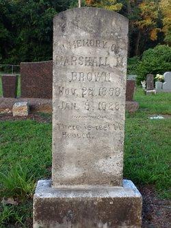 Marshall M Brown