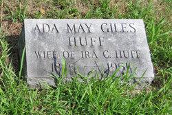 Ada May <i>Giles</i> Huff