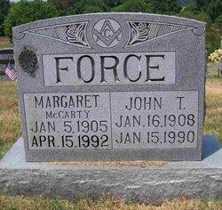 Anna Margaret <i>McCarty</i> Force