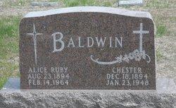 Alice Ruby Baldwin