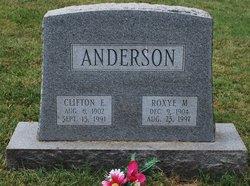 Clifton E Anderson