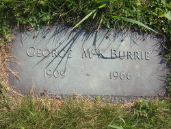 George McK Burrie