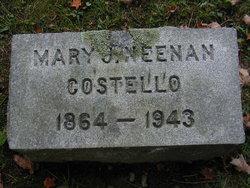 Mary J. <i>Neenan</i> Costello