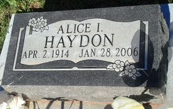 Alice Isabelle <i>Palmer</i> Haydon