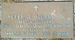 Peter J. Mears, Jr