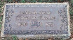 Vinnorah Lee Norah <i>Shellabarger</i> Foster