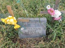 Bertha Marie Baker