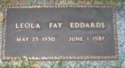Leola Fae <i>Hill</i> Eddards
