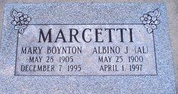 Mary Susannah <i>Boynton</i> Marcetti