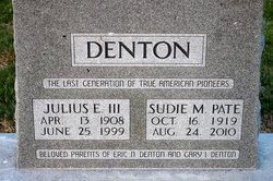Julius Elmus Denton, III