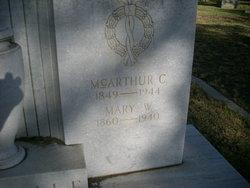 McArthur C Ragsdale