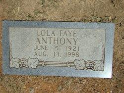 Lola Faye <i>Givens</i> Anthony