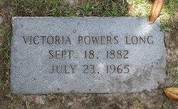 Victoria <i>Powers</i> Long