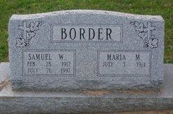 Samuel William Border
