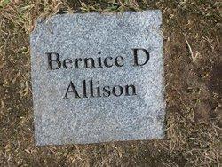Bernice D Allison