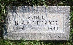Blaine Bender