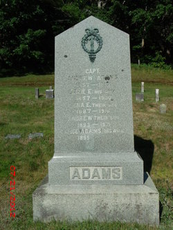 Lizzie E. <i>Otis</i> Adams