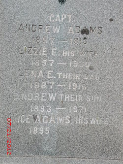 Alice Mary <i>Clark</i> Adams