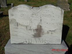 Elizabeth Anna Lizzie <i>Spinney</i> Adams