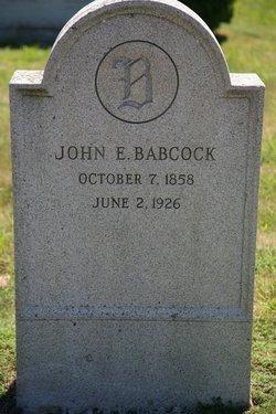 John Edward Babcock