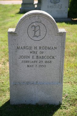 Margie Hunter <i>Rodman</i> Babcock