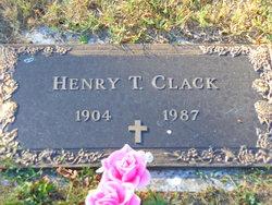 Henry Thomas Clack