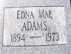 Edna Mae Adams