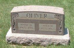 Alice M Oliver