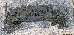 Agnes Amelia <i>Rice</i> Bradley