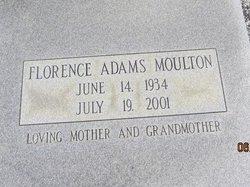 Florence <i>Adams</i> Moulton
