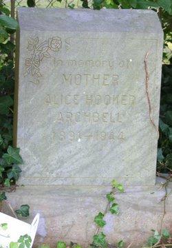 Alice Nancy <i>Hooker</i> Archbell
