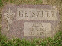 Aleta <i>Bowers</i> Geiszler