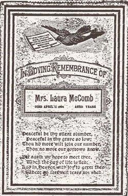 Laura Belle <i>Starnes</i> McComb