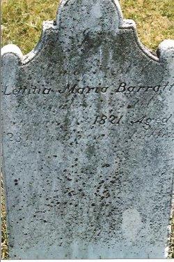 Lettitia Maria Barratt