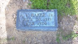Albert Vincent A.V. Baker, Jr