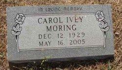 Margaret Carol <i>Ivey</i> Moring