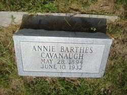 Annie <i>Barthes</i> Cavanaugh
