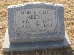 Mary L. <i>Le Claire</i> Abbott