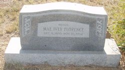 Clara Mae <i>Ivey</i> Florence